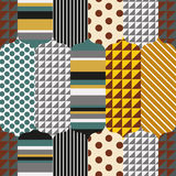 Patches seamless texture. Patches seamless texture, vector background Stock Photography