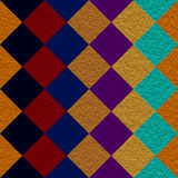 Patchwork. An illustration of a patchwork plaid Stock Photos