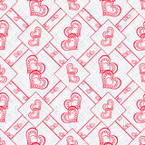Patchwork abstract seamless , pattern texture light background . Stock Photo
