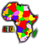 Patchwork Africa Stock Photography