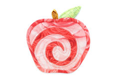 Patchwork apple Stock Images