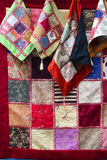 Patchwork as background stock photo