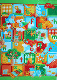 Patchwork as a Background Royalty Free Stock Images