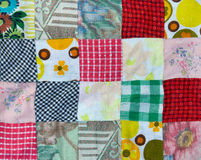 Patchwork background Stock Photography