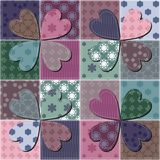 Patchwork background Royalty Free Stock Photography