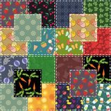 Patchwork background Royalty Free Stock Photo