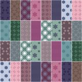 Patchwork background Royalty Free Stock Images
