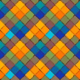 Patchwork background Seamless vector pattern Stock Image