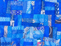 Patchwork blanket seamless texture. Colorful patchwork blanket seamless texture Stock Photo