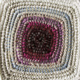 Patchwork, braided rug Stock Photography