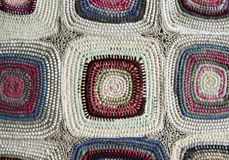 Patchwork, braided rug Royalty Free Stock Photo