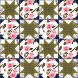 Patchwork bright abstract pattern texture geometric background Royalty Free Stock Photo