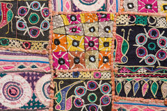Patchwork carpet Stock Photography