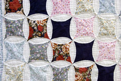 Patchwork cloth Stock Photos