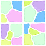 Patchwork with colorful texture. Background Royalty Free Stock Image