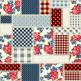 Patchwork in country style Stock Photography
