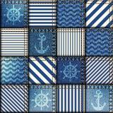 patchwork de tissu de denim dans le style marin photos 4 patchwork de tissu de denim dans le. Black Bedroom Furniture Sets. Home Design Ideas