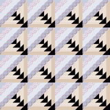 Patchwork decorative seamless pattern bright background . Royalty Free Stock Photo