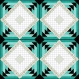 Patchwork decorative seamless pattern bright background . Stock Photos