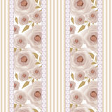 Patchwork design floral fabric texture pattern retro background Stock Photography