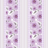 Patchwork design floral fabric texture pattern retro background Royalty Free Stock Photos