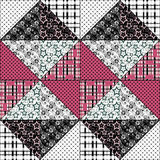 Patchwork design pattern Royalty Free Stock Photo