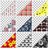 Patchwork design pattern Stock Photo