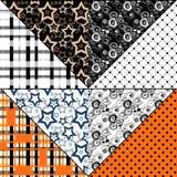 Patchwork design pattern Royalty Free Stock Photos