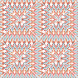 Patchwork design seamless geometrical pattern background Royalty Free Stock Photography