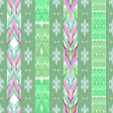 Patchwork design seamless pattern ornament pastel colors backgro Royalty Free Stock Photography