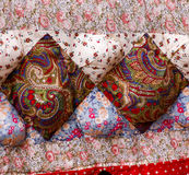 Patchwork Fabric Quilt Royalty Free Stock Images