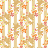 Patchwork geometrical floral pattern texture background Royalty Free Stock Images
