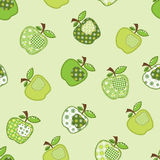 Patchwork green apple tree Royalty Free Stock Photography