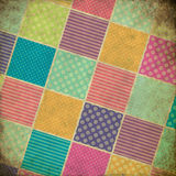 Patchwork grunge background Royalty Free Stock Photography