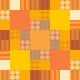 Patchwork handmade  background Stock Image