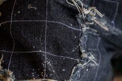 Patchwork. Jeans patchwork texture denim fashion Stock Photos