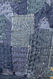 Patchwork. Jeans patchwork texture denim fashion Stock Photography