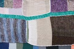 patchwork kolorowa kołderka Fotografia Royalty Free
