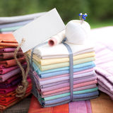 Patchwork, label Stock Image