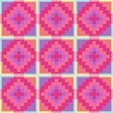 Patchwork-Muster Stockbilder