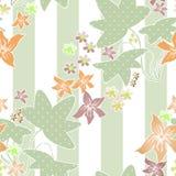 Patchwork pastel colors geometrical floral pattern texture backg Stock Photography