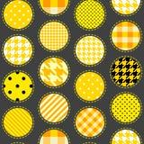 Patchwork polka dot Stock Photography