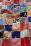 patchwork powszechna kołderka Zdjęcia Royalty Free