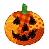 Patchwork Pumpkin Royalty Free Stock Photography