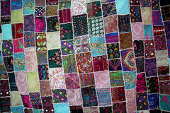 Patchwork -Quilt for backgrounds Stock Images