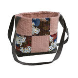 Patchwork quilt bag Royalty Free Stock Photos