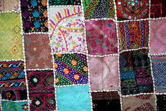 Patchwork -Quilt Stock Photography