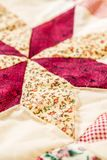 Patchwork Quilt Royalty Free Stock Photos