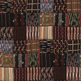 Patchwork quilt seamless texture Stock Image