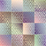 Patchwork of satin fabric Royalty Free Stock Image